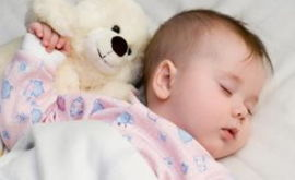 Как уложить спать грудного ребенка