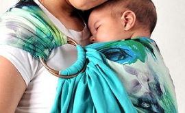 Слинг – первый помощник мамы и младенца