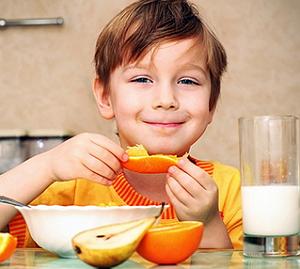 Сезонное питание ребенка