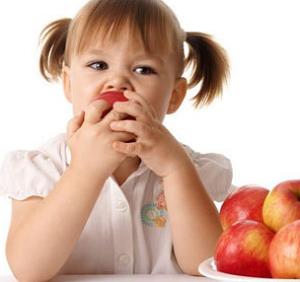 Сезонные продукты для детей