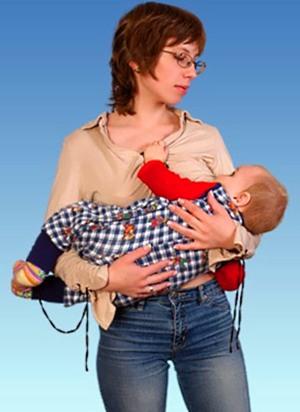 Правильные позы для кормления грудного ребенка