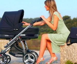 Коляска для новорожденного ребенка