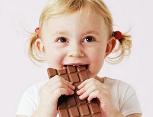 Когда ребенку можно шоколад