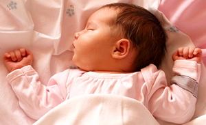 Правильный распорядок дня новорожденного