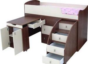Кровать трансформер для новорожденного ребенка