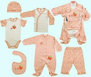 Домашняя одежда для новорожденного